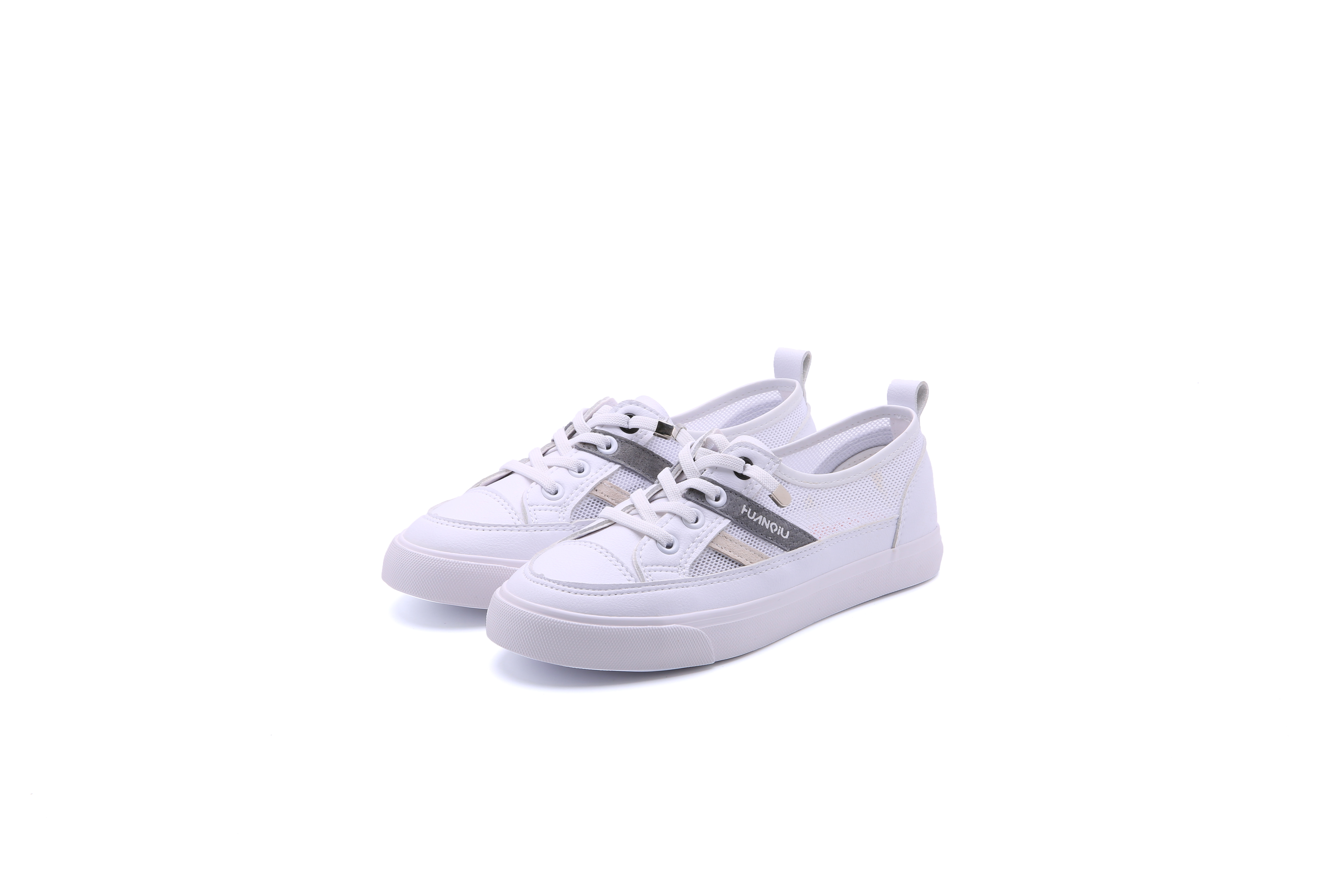 Hot sale wholesale white breathable casual shoes women casual shoes