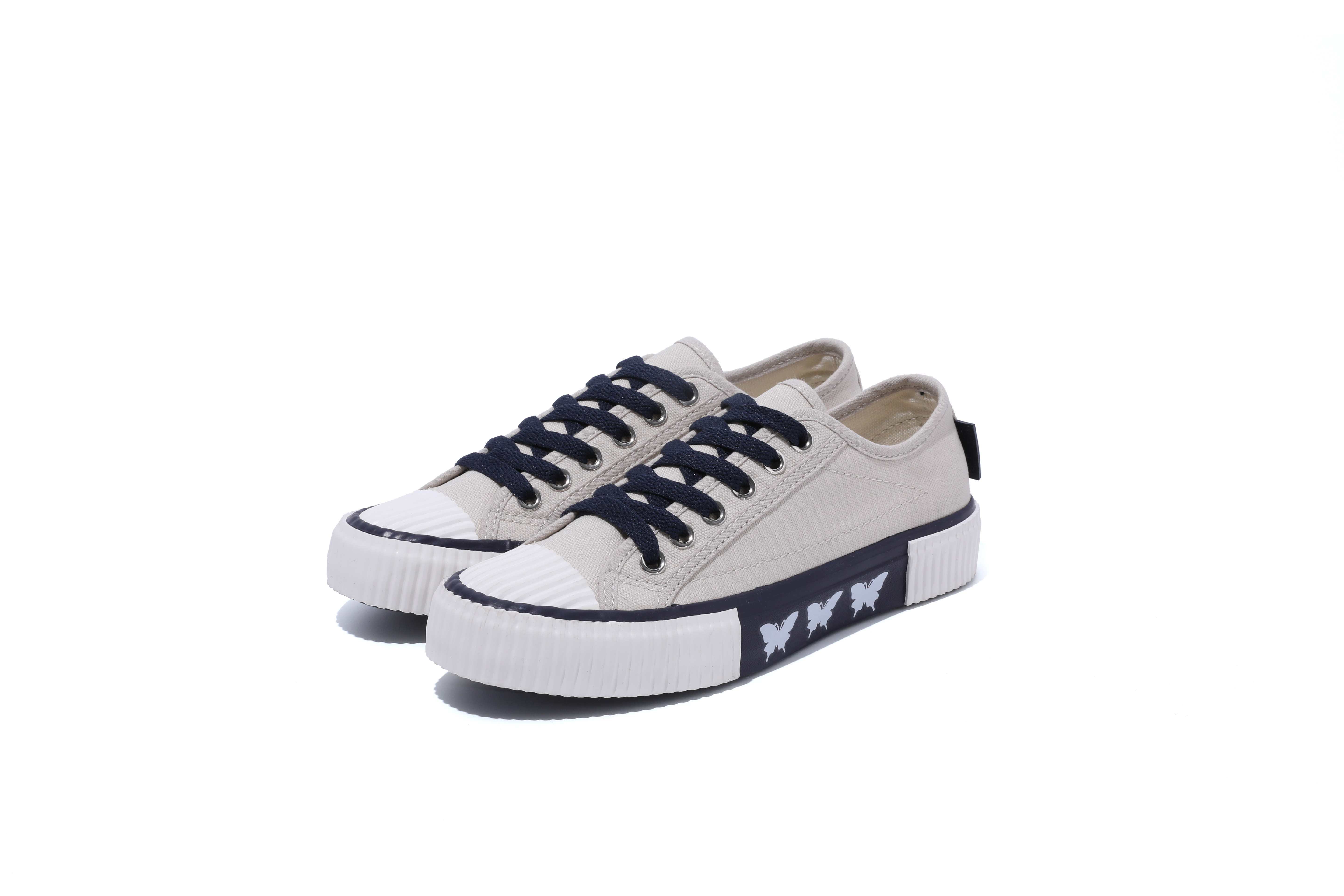Hot Sale Popular Textile Casual Custom Logo Women Canvas Shoes
