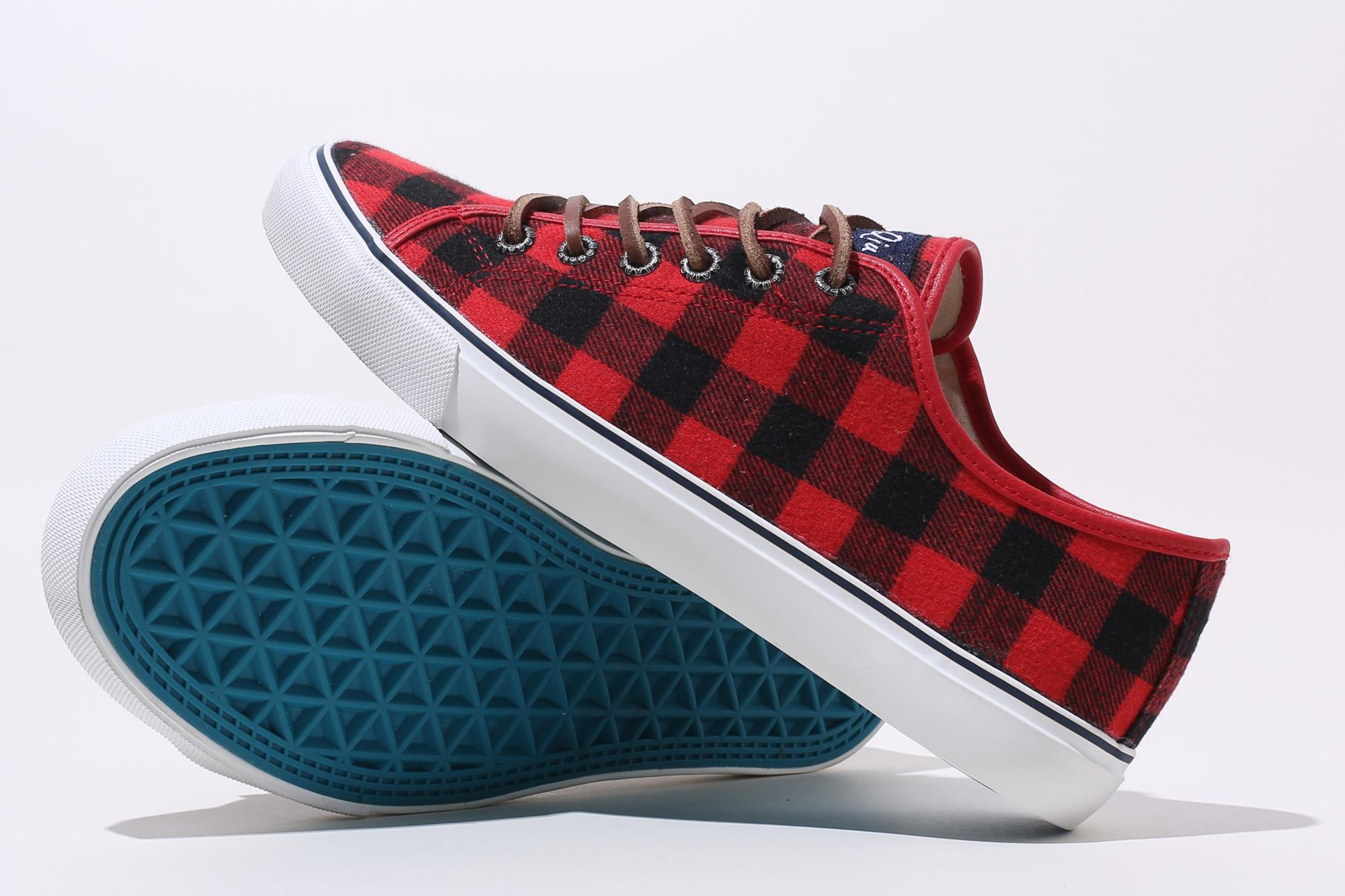 Made in China designer plaid shoes ladies sneakers casual womens fall shoes